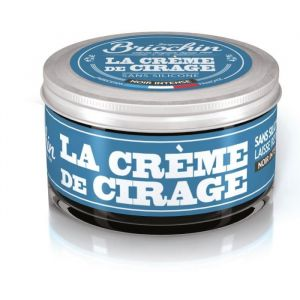 Briochin Crème cirage noir intense, sans silicone