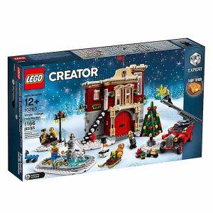 Lego La caserne des pompiers du village d'hiver Creator 10263