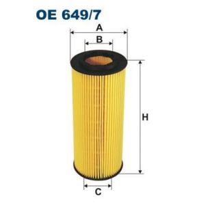 Filtron Filtre à huile Œ 649/7