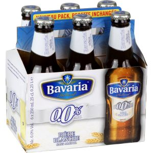 Bavaria 0,0% wit bouteille pack 6x25cl