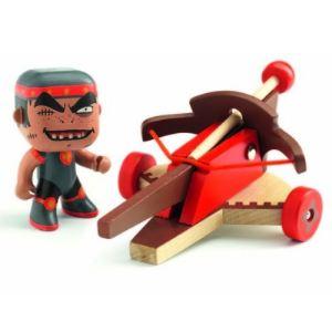 Djeco Arty Toys Klute & Ze arbalete Les chevaliers