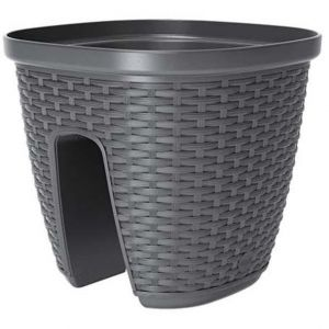 Emsa Casa Mesh Ø30 cm - Pot balustrade à réserve d'eau