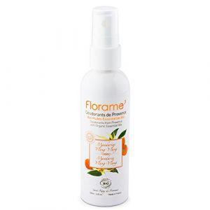 Florame Déodorant aux huiles essentielles bio mandarine 100 ml