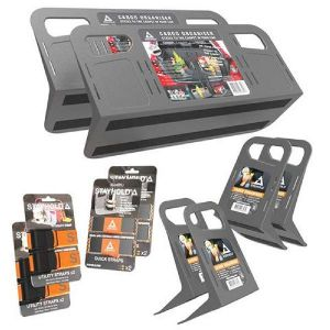 Stayhold Pack rangements de coffre gris