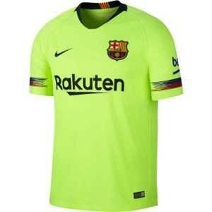 Nike Maillot de football 2018/19 FC Barcelona Stadium Away pour Homme - Jaune - Taille S