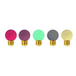 Girard sudron Lot de 5 ampoules led E27 étanches pour guirlande décorative (4 kits) - Kit guirlande - Kit Jazz