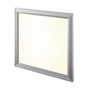 Dalle LED 18 W gris argent