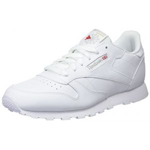 Reebok Classic Leather, Basses Mixte Enfant, Blanc (White), 37 EU