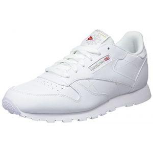 Image de Reebok Classic Leather, Basses Mixte Enfant, Blanc (White), 37 EU