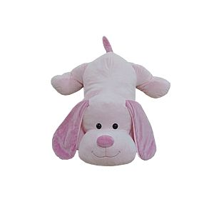 Toys R Us Peluche 100 cm - Chien Sammy rose