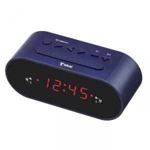 Tokai TC 159 ST - Radio-réveil double alarmes