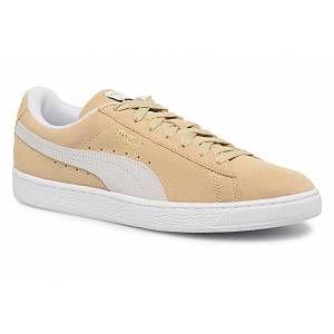 Image de Puma Suede Classic, Sneakers Basses Mixte Adulte, Beige (Pebble White White), 45 EU