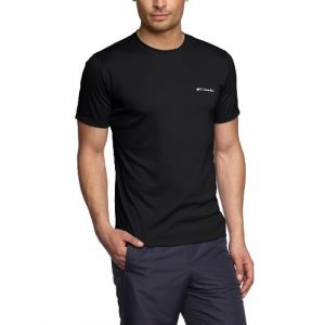 Columbia Zero Rules Short Sleeve Shirt - T-shirt taille S - Regular 27´´, noir