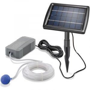 Esotec Aérateur de bassin solaire 2W 130 l / h pompe aération de bassin oxygène 101840