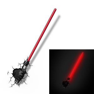 3D light FX Applique 3D Deco Light Sabre Laser Star Wars
