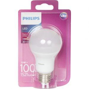 Philips Ampoule led standard 13-100w E27 dépolie blanc chaud