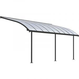 Palram Patio Cover Joya 3X5.46 Robust Structure - Gray