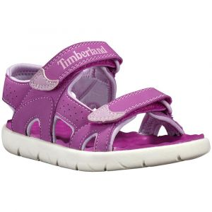 Timberland Perkins Row-2-Strap, sandale junior Mixte Enfant, (Fuscia Rose), 32 EU