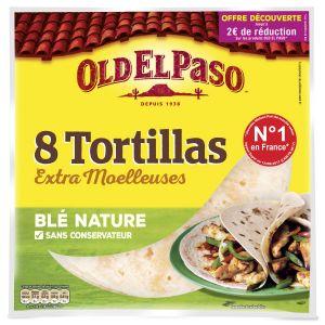 Old el paso Tortillas blé nature, offre decouverte