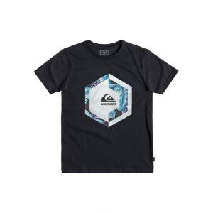 Quiksilver Heat Stroke - T-shirt pour garçon 8-16 ans - Noir