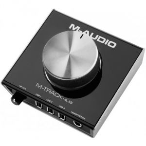 M-Audio M-Track Hub - Interface audio avec hub USB
