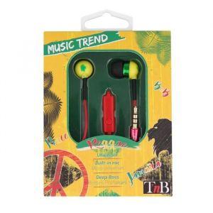T'nB Music trend2 - Écouteurs intra-auriculaire avec micro intégré