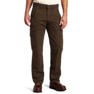 Carhartt Ripstop Cargo Work Jeans/Pantalons Marron foncé 34