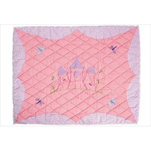 Win Green Petit tapis de sol château de princesse