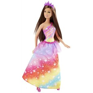 Mattel Barbie Princesse arc en ciel