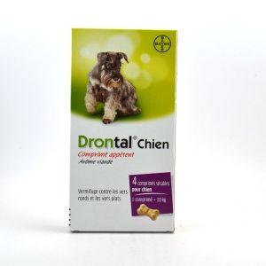 Bayer Drontal P Bone - Comprimé, vermifuge pour chien