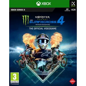 Monster Energy Supercross - The Official Videogame 4 (Xbox Series X) [Xbox Series X|S]