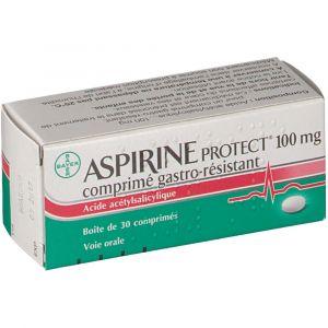 Bayer Aspirine Protect 100 mg - 30 Comprimés
