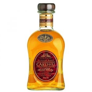 Cardhu Whisky Ecosse Speyside Single Malt 12 ans 40 % vol. 70 cl