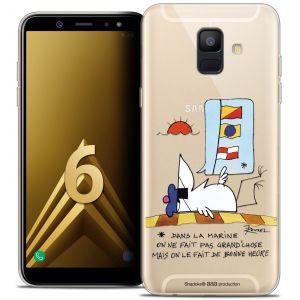 CaseInk Coque Gel Samsung Galaxy A6 2018 (5.45 ) Extra Fine Les Shadoks® - La Marine