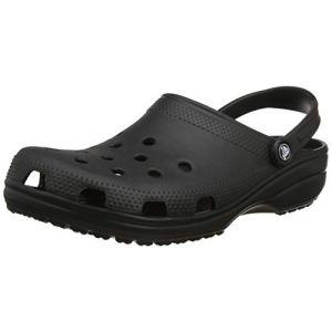 Crocs Classic, Sabots Mixte Adulte, Noir (Black), 51-52 EU