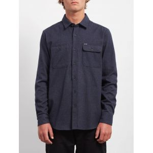 Volcom Chemises Hickson Update L/s - Midnight Blue - XS
