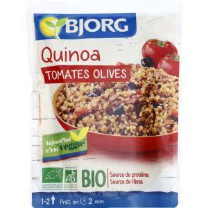 Bjorg Quinoa, tomates et olives, certifié AB