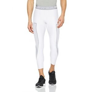 Under Armour Under Armour HG Armour Graphic 3/4 Legging Homme, Blanc, XXL