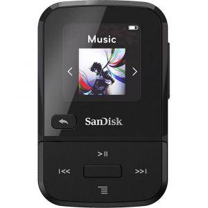 Sandisk Clip Sport Go Lecteur MP3 32 Go noir clip de fixation, radio FM, enregistrement vocal