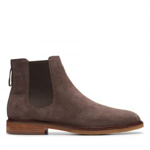 Clarks Boots CLARKDALE GOBI Gris - Taille 40,41,42,43,44,45,46,42 1/2,47,48,41 1/2,44 1/2,39 1/2