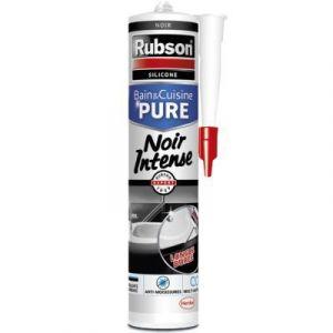 Rubson Mastic sanitaire silicone 280mL - Noir intense