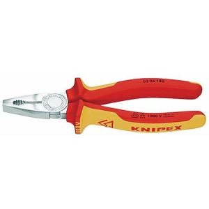 Knipex 03 06 180 - Pince universelle isolée 180 mm