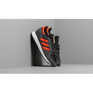 Adidas Chaussures casual Forest Grove Originals Noir / Orange - Taille 45 y 1/3