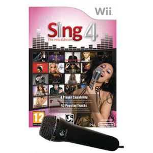 Sing 4 + 1 micro [Wii]