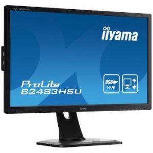 "iiyama ProLite B2483HSU-B1DP - Ecran LED 24"""