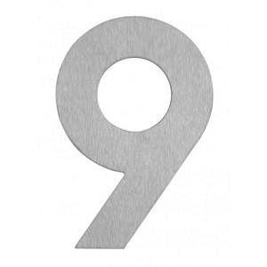 Albert Leuchten Numéro de maison 9- en inox
