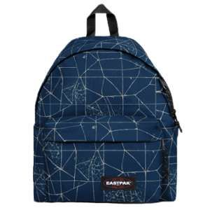 Eastpak Padded Pak'R Sac à  dos, 40 cm, 24 L, Bleu (Cracked Blue)