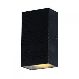Vision-El Applique murale LED 2x5W rectangulaire 3000°K gris IP54