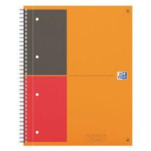 Oxford 400055726 - Notebook Connect rel. intégrale A4+ 160 pages 80g/m², ligné 6mm