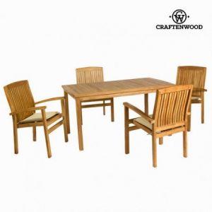 Craftenwood Table en teck avec 4 chaises